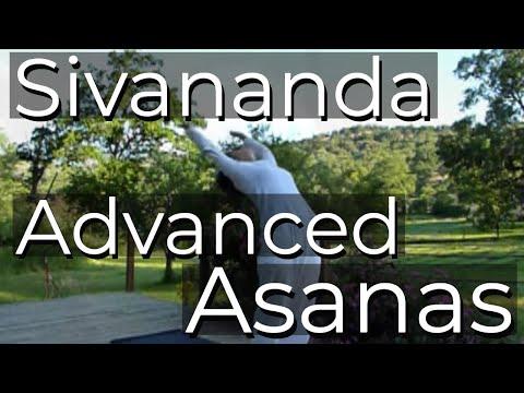 sivananda advanced asana cycles  headstand shoulderstand